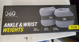FLO 360 ankle and wrist weights for Sale in Hesperia, CA