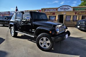 2009 Jeep Wrangler Unlimited for Sale in Houston, TX