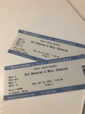 Pat Benatar tickets for Sale in Folsom, CA