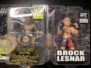 UFC action figure Ben Henderson Brock Lesnar for Sale in San Jose, CA