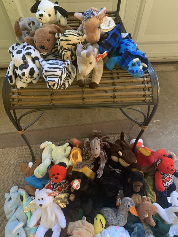 The Kid Collector's Dream - American Doll plus Beanie Babies