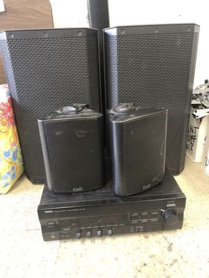YAMAHA Stereo/Receiver/Speakers for Sale in Beaverton, OR