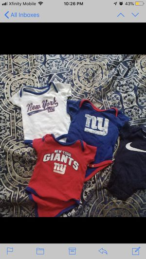 3m New York giant onesie for Sale in Randallstown, MD