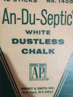 Vintage Chalk-unused for Sale in Coal Center,  PA