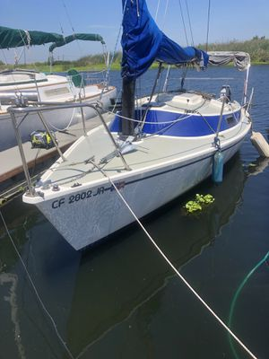21' freedom sailboats 1981 with Honda 5 hp for Sale in Isleton, CA