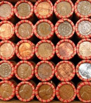 Nine (9) Rare (High Grade Ends) Premium Bank 1909-1958 Wheat Penny Rolls- ALL Rare Dates Possible: Old Estate Sale Find! for Sale in Washington, DC