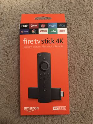 Amazon fire tv stick 4K for Sale in Atlanta, GA