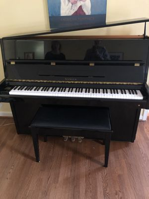"Samick Upright Piano Model SU-118 48"" with bench for Sale in Rockville, MD"