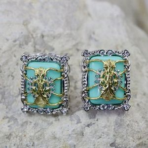 One of the Kind Turquoise Earrings It was a special order for our co for Sale in Palatine, IL