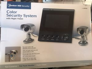 Security camera and flat panel monitor for Sale in Escondido, CA