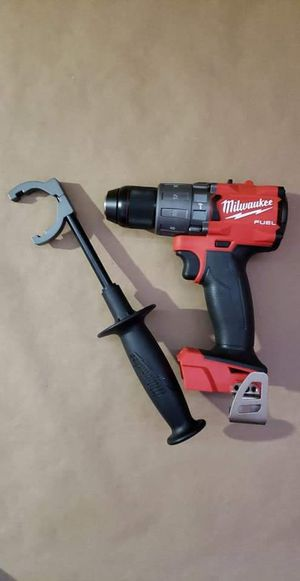 Milwaukee M18 FUEL 18-Volt Lithium-Ion Brushless Cordless 1/2 in. Hammer Drill / Driver (Tool-Only) for Sale in Greenville, SC