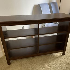 TV Stand - Brown Wood for Sale in San Marcos, CA