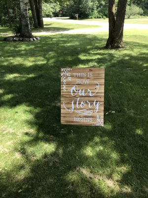 Our story Easle for Sale in Pine River, MN
