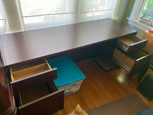 Cherry desk with drawers for Sale in Albany, CA