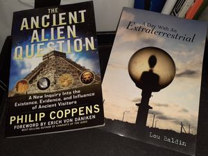 2-Ancient Alien Books for Sale in St. Louis, MO