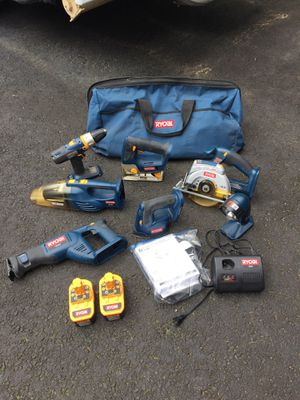 Power tool set with bag for Sale in Manassas, VA