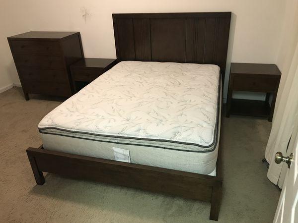Crate & Barrel Bedroom Set