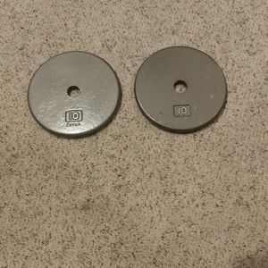 Weights - 10 lb Discs for Sale in Lynnwood, WA