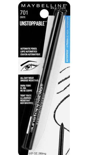 Maybelline Unstoppable Onyx Eyeliner for Sale in Lowell, MA