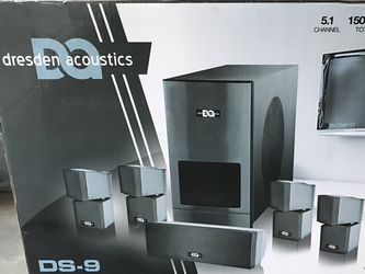 Dresden Acoustics 5.1 Home Theatre System for Sale in San Jose,  CA