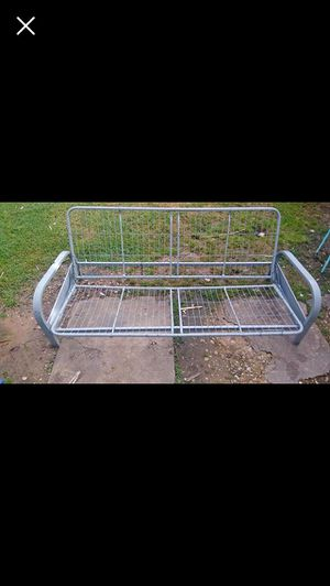 Full size futon frame (only) $10 for Sale in Oklahoma City, OK