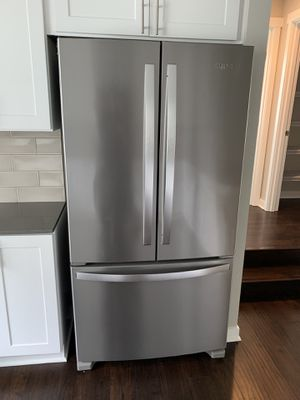 Whirlpool stainless frig, dish washer and microwave for Sale in Bothell, WA