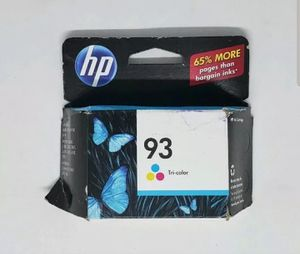 Genuine HP 93 Tri-Color Ink Cartridge Expiration Date October 2012 for Sale in Spring Hill, FL