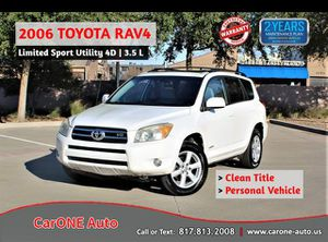2006 Toyota RAV4 for Sale in Garland, TX