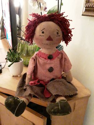 Vintage OAAK Raggedy Ann Doll for Sale in VLG WELLINGTN, FL