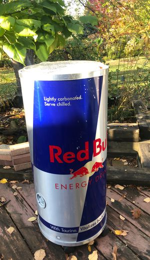 Large Red Bull cooler party rain barrow ? for Sale in Glen Ellyn, IL