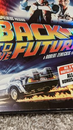 Back To The Future Trilogy (DVD Set) for Sale in Brier,  WA