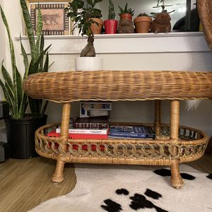 Wicker Coffee Table for Sale in Hanover, MD