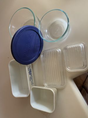 7 piece lot vintage Pyrex $20 for Sale in Lancaster, CA