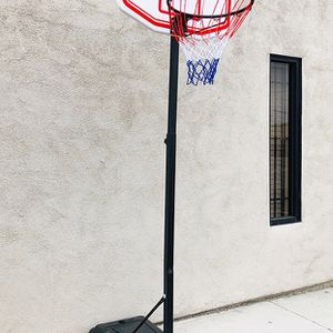 "Brand New $50 Kids Junior Sports Basketball Hoop 28x19"" Backboard, Adjustable Rim Height 5' to 7' for Sale in Whittier, CA"