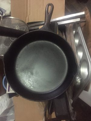 Cast Iron pan and large assortment of kitchen items &150 for Sale in Brooklyn, NY