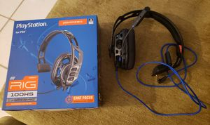 PS4 RIG 100HS Gaming Headphones for Sale in Largo, FL
