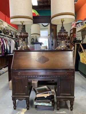 Secretary desk antique for Sale in Morgan Hill, CA