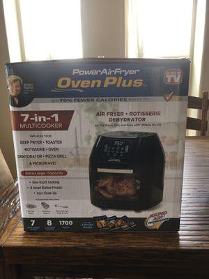 Power Air Fryer Oven Plus for Sale in Huntington, UT