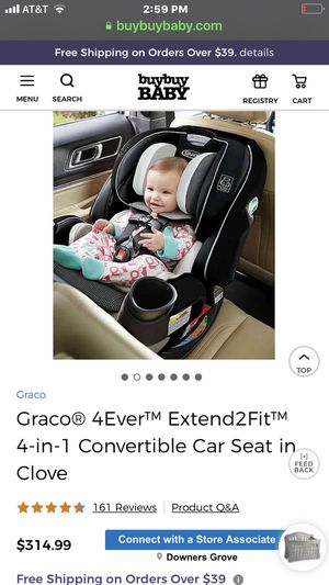 Brand new Graco Extend to Fit 4 in 1 car seat for Sale in Grayslake, IL