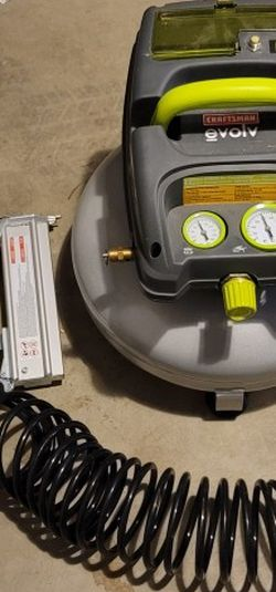 Craftsman Air Compressor And Nail Gun for Sale in SeaTac,  WA