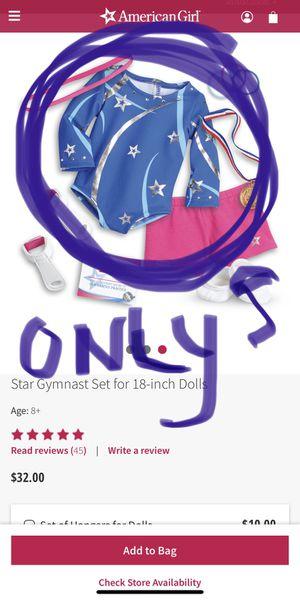 American Girl Star Gymnastic leotard only for Sale in Marlboro Township, NJ