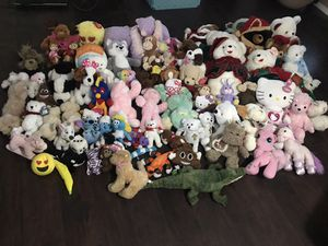 Stuffed animals (85 total) for Sale in Albuquerque, NM
