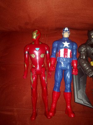 Iron man and captain america for Sale in Louisburg, NC