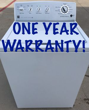Washer Heavy Duty Large Capacity With Year Warranty for Sale in McKinney, TX