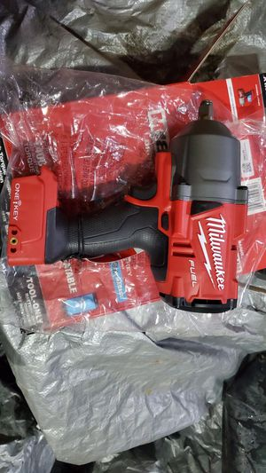 "Milwaukee Fuel M18 1/2"" Impact w/OneKey Bluetooth Manager for Sale in Norfolk, VA"