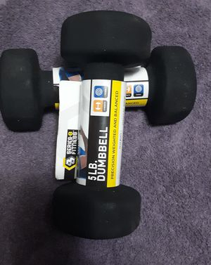 5 pound dumbbell set for Sale in Tacoma, WA