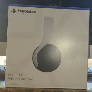 Sony Playstation Pulse 3D Wireless Headphones Ps5 Brand NEW for Sale in East Meadow, NY