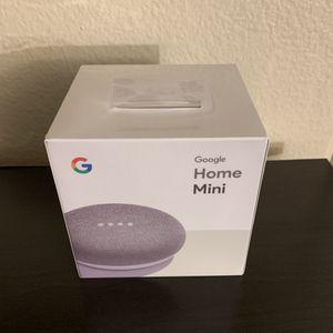 Google home mini white for Sale in San Diego, CA