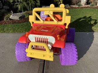 Kids Toy Jeep New Bettery & Charger 12 V for Sale in Vancouver,  WA