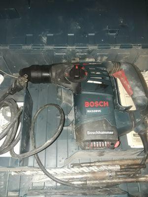 Bosch hammer drill chipper for Sale in Houston, TX